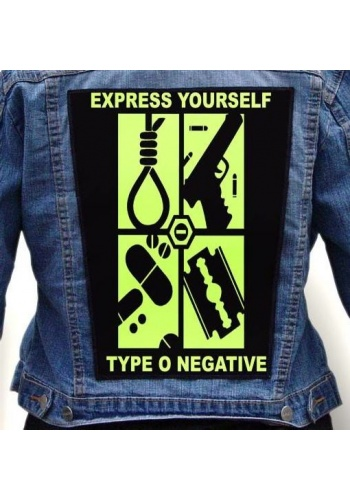 Ekran TYPE O NEGATIVE - EXPRESS YOURSELF