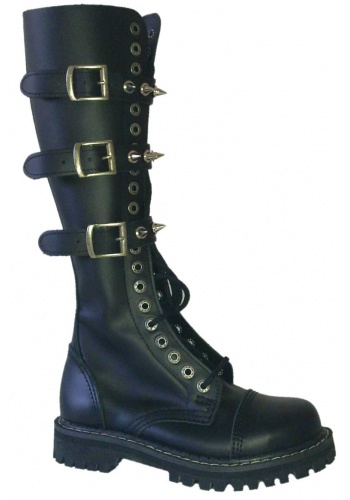 Glany 20-to dziurowe KMM Black Spikes 3P