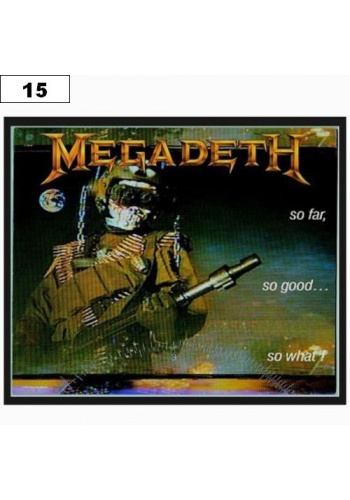 Naszywka MEGADETH So Far So Good So What (15)