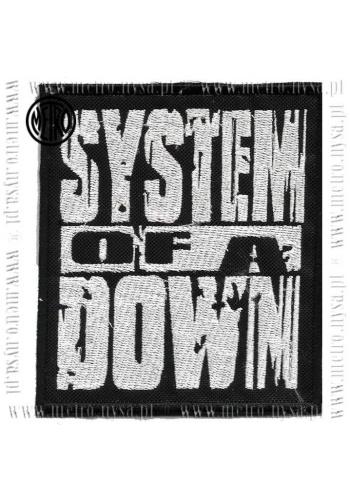 Prasowanka SYSTEM OF A DOWN logo